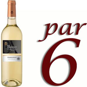 VIN BLANC Berger des Abeilles IGP Méditerranée Chardonnay vi