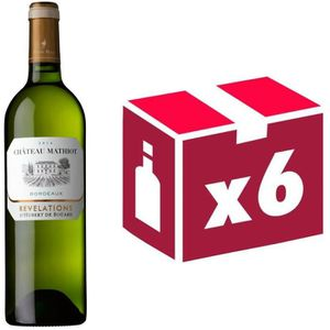 VIN BLANC Château Mathiot Bordeaux 2014 - Vin Blanc