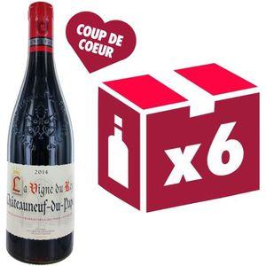 VIN ROUGE La Vigne du Roy Châteauneuf du Pape 2014 - Vin ...