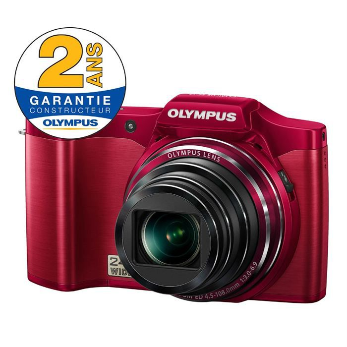 appareil photo olympus sz14 rouge achat vente appareil photo compact cdiscount. Black Bedroom Furniture Sets. Home Design Ideas