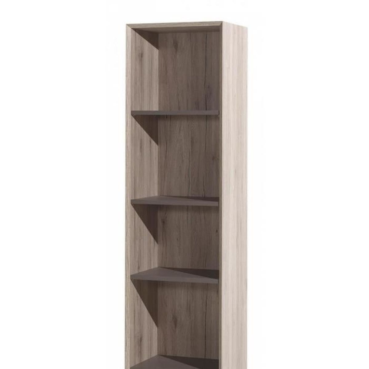 bibliotheque en bois naturel achat vente bibliotheque. Black Bedroom Furniture Sets. Home Design Ideas