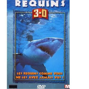 DVD DOCUMENTAIRE REQUINS 3D