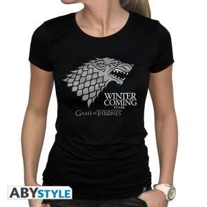 T-SHIRT T-shirt Game Of Thrones Winter is Coming Femme