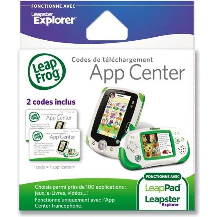CONSOLE ÉDUCATIVE Explorer - Cartes De Téléchargements App Center