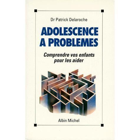La couverture fonctionne les problèmes de l'adolescence