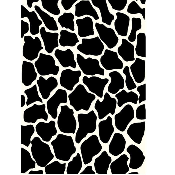 Tapis rectangulaire 120x150 cm achat vente tapis - Tapis geometrique noir et blanc ...