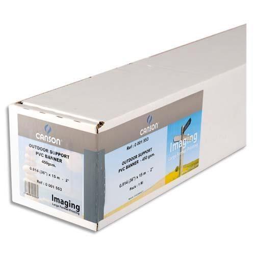 Canson rouleau synth tique eco mat 135g pour traceur 0 for Papier imprimante autocollant exterieur