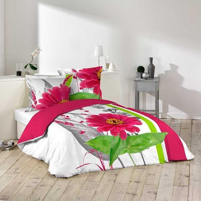 parure de couette 100 coton 260x240 leane achat vente parure de couette. Black Bedroom Furniture Sets. Home Design Ideas