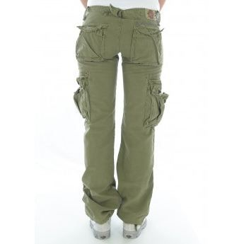 Pantalon treillis le temps des c vert achat vente pantalon pantalon treillis le temps des - Pantalon treillis femme le temps des cerises ...