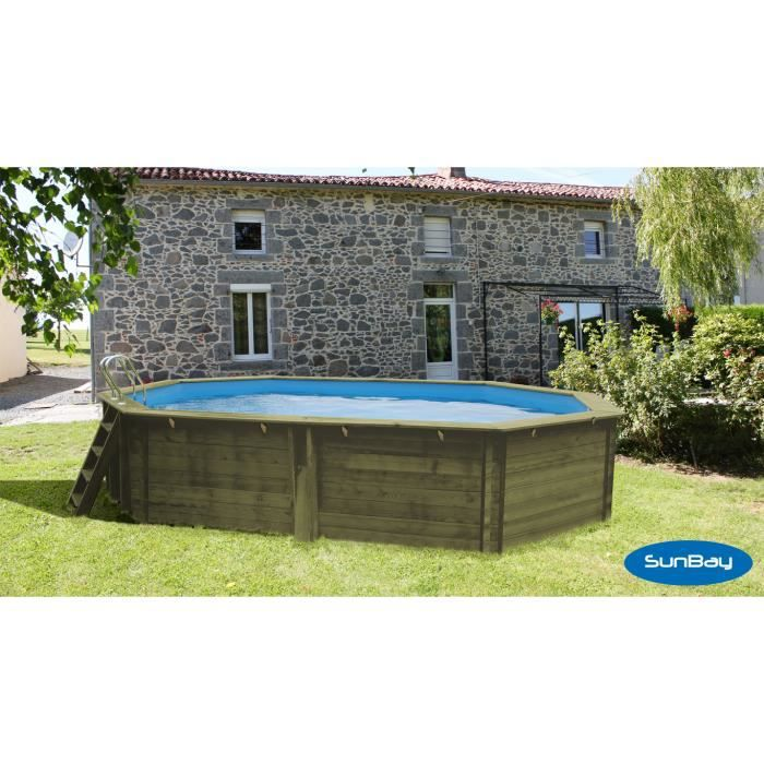 piscine hors sol bois 3m x4m achat vente piscine hors sol bois 3m x4m pas cher cdiscount. Black Bedroom Furniture Sets. Home Design Ideas