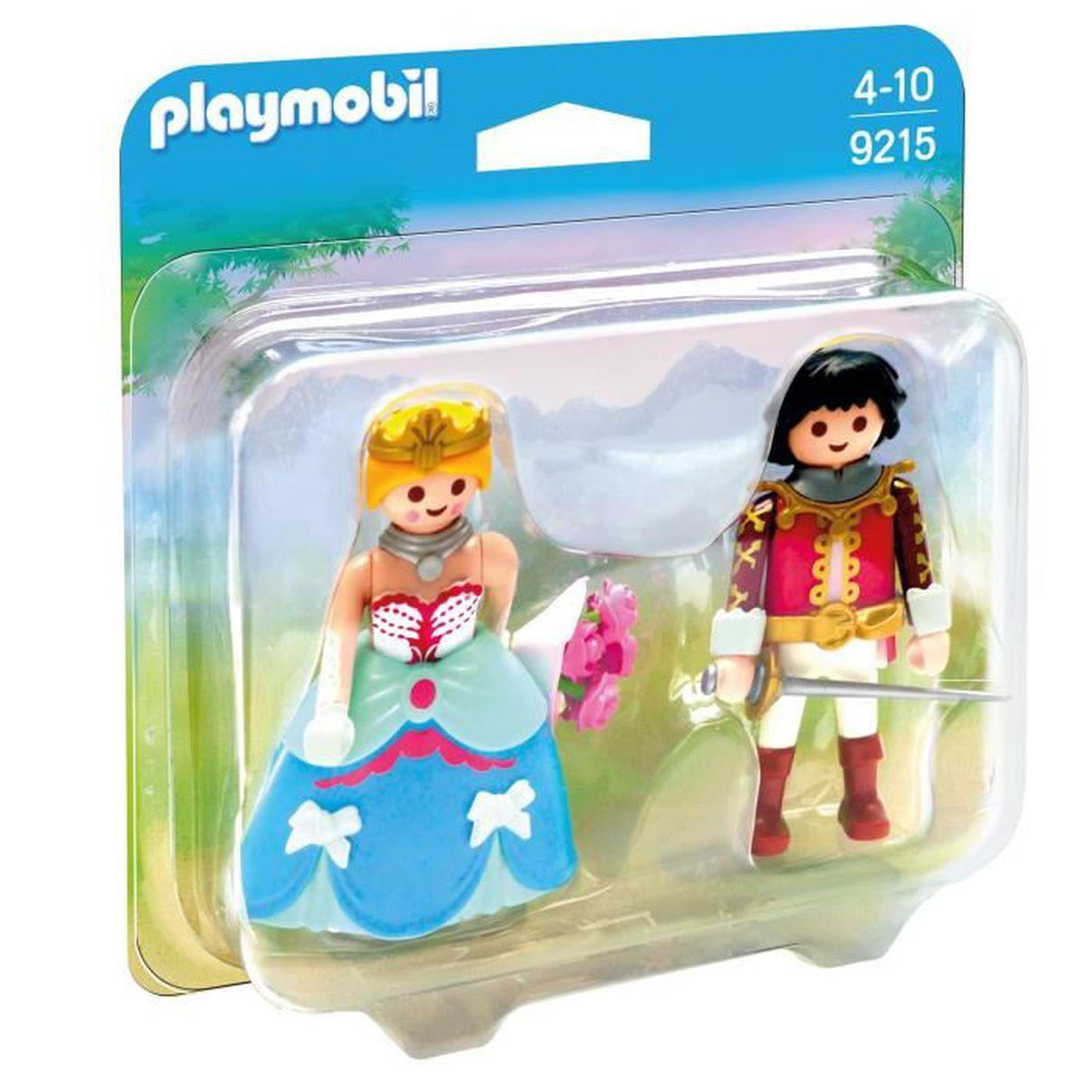 Playmobil princesse et prince achat vente jeux et for Carrosse princesse playmobil