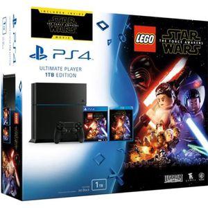 CONSOLE PS4 NOUVEAUTÉ PS4 1 To + Lego Star Wars: Le Réveil de la Force J