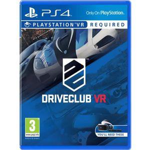 JEU PS VR Drive Club VR