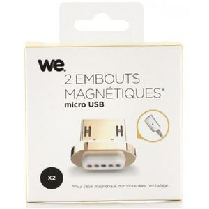 WE Câble USB / Micro USB - Magnetique - Connecteurs X2