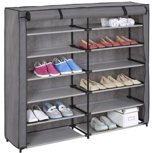 meuble a chaussures tissus achat vente meuble a chaussures tissus pas cher cdiscount. Black Bedroom Furniture Sets. Home Design Ideas