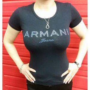 T-SHIRT Tee-Shirt Armani Jeans pour femmes manches courtes