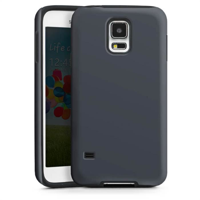 samsung galaxy s5 tough case black anthrazit achat. Black Bedroom Furniture Sets. Home Design Ideas