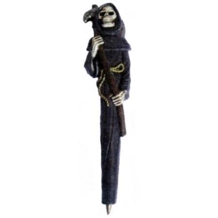Stylo gothique t te de mort achat vente stylo parure for Bille en tete alexandre jardin