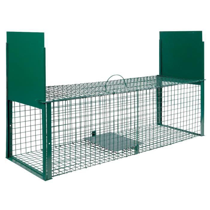 cage  u00e0 nuisibles double entr u00e9e grand mod u00e8le   vente pi u00e8ge nuisible jardin cage  u00e0