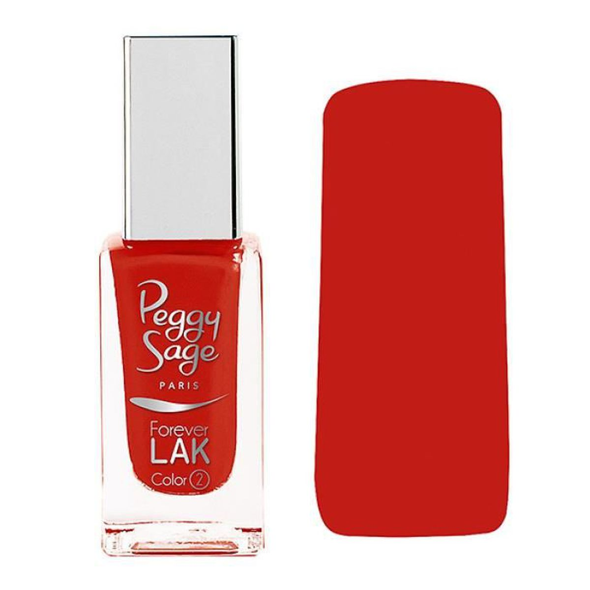 vernis ongles peggy sage 11ml forever lak perfect red achat vente vernis a ongles vernis. Black Bedroom Furniture Sets. Home Design Ideas