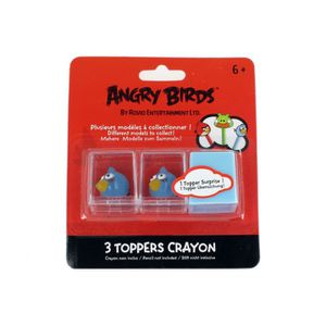FIGURINE - PERSONNAGE Toppers - Angry Birds Bleu