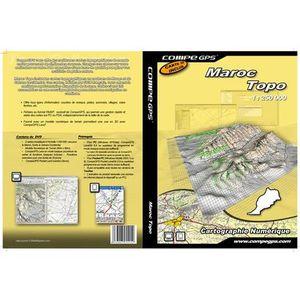 TWONAV Carte Maroc & Sahara Occidental sur DVD
