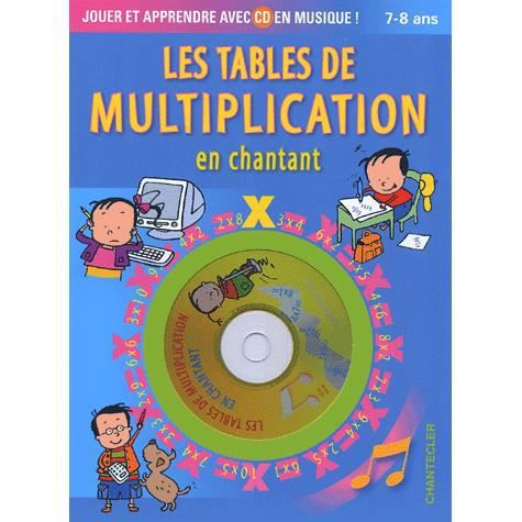 Les tables de multiplication en chantant achat vente - Les table de multiplication en chanson ...