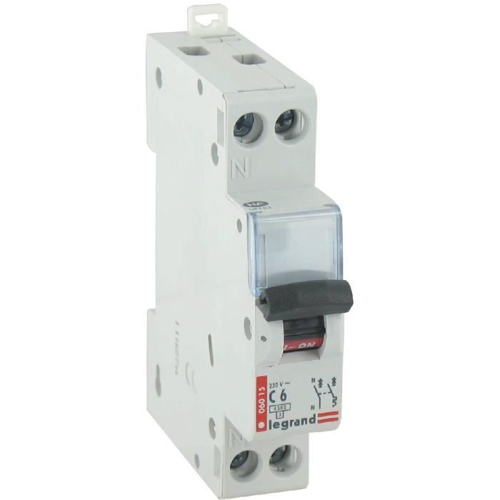 Disjoncteur magn to thermique type c legrand unipo achat vente disjoncteur cdiscount - Disjoncteur magneto thermique ...