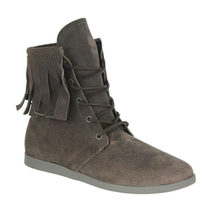 Chaussures homme kr3w lincoln daim gris gris achat Canape daim gris