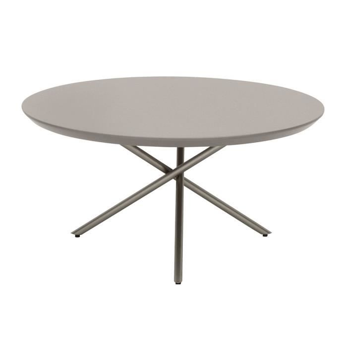 table basse ronde 70cm young gris clair achat vente table basse table basse ronde 70cm youn. Black Bedroom Furniture Sets. Home Design Ideas