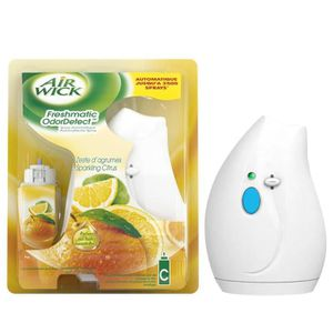 Air Wick freshmatic compact agrumes format découverte