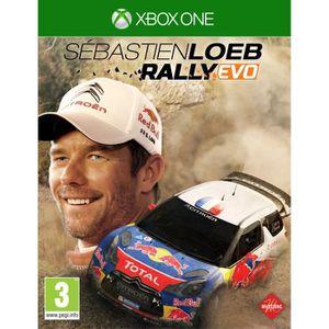 JEUX XBOX ONE Sébastien Loeb Rally Evo Jeu Xbox One