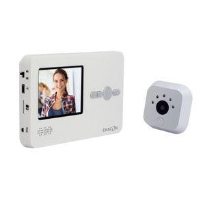 INTERPHONE - VISIOPHONE CHACON Interphone vidéo avec judas digital avec éc