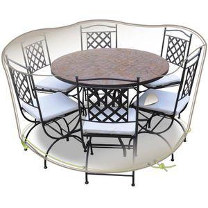 housse de protection pour table et chaise de jardin achat vente housse de protection pour. Black Bedroom Furniture Sets. Home Design Ideas