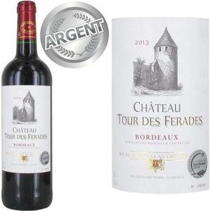 VIN ROUGE Château Tour des Ferades 2013 Bordeaux vin rouge