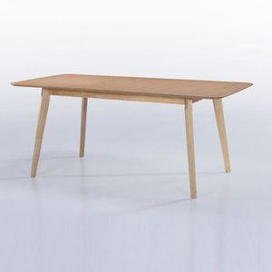 Table a manger en bois 150 cm achat vente table a manger en bois 150 cm pas cher cdiscount for Prix table a manger