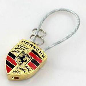 Porte-clés Porsche dans une boîte cadeau
