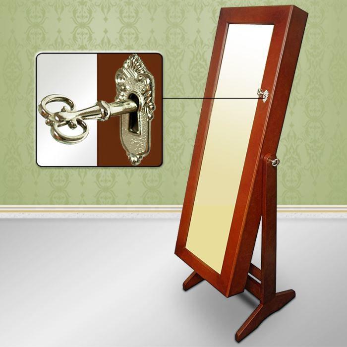 Armoire de rangement pour bijoux avec miroir ma achat vente pr sentoir b - Meuble miroir avec rangement pour bijoux ...