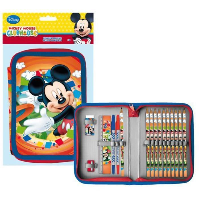 Mickey et ses amis trousse garnie mickey mouse club house achat vente trousse stylo - Mickey mouse et ses amis ...