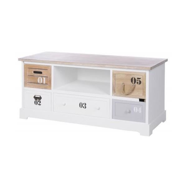 Commode basse 5 tiroirs achat vente commode de chambre for Chambre basse