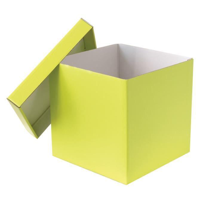boite de rangement 32 x 32 x 32 cm achat vente boite de rangement cdiscount. Black Bedroom Furniture Sets. Home Design Ideas