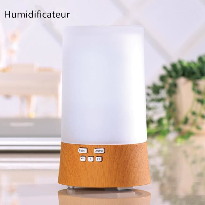 2016 nouveau design humidificateur ultrasonique led lumineux 7 couleurs diffuseur aromatique. Black Bedroom Furniture Sets. Home Design Ideas