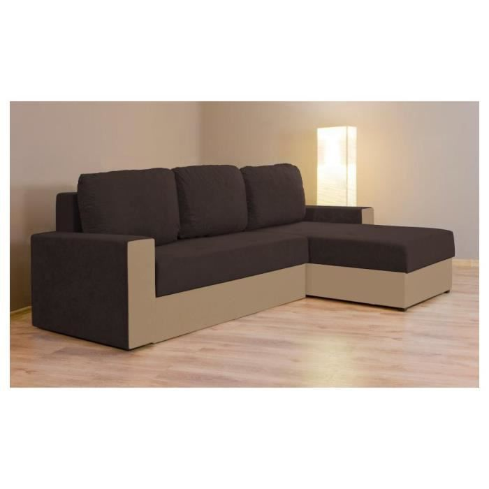 Justhome mars iii canap d 39 angle l x l 155 x 238 - Canape d angle 2 metres ...
