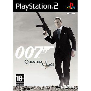 JEU PS2 JAMES BOND QUANTUM OF SOLACE / JEU CONSOLE PS2 -