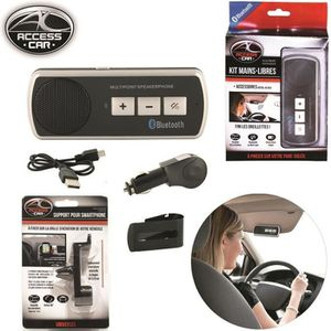 kit voiture mains libres bluetooth pour pare soleil achat vente kit voiture mains libres. Black Bedroom Furniture Sets. Home Design Ideas