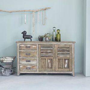 buffet vintage achat vente buffet vintage pas cher cdiscount. Black Bedroom Furniture Sets. Home Design Ideas