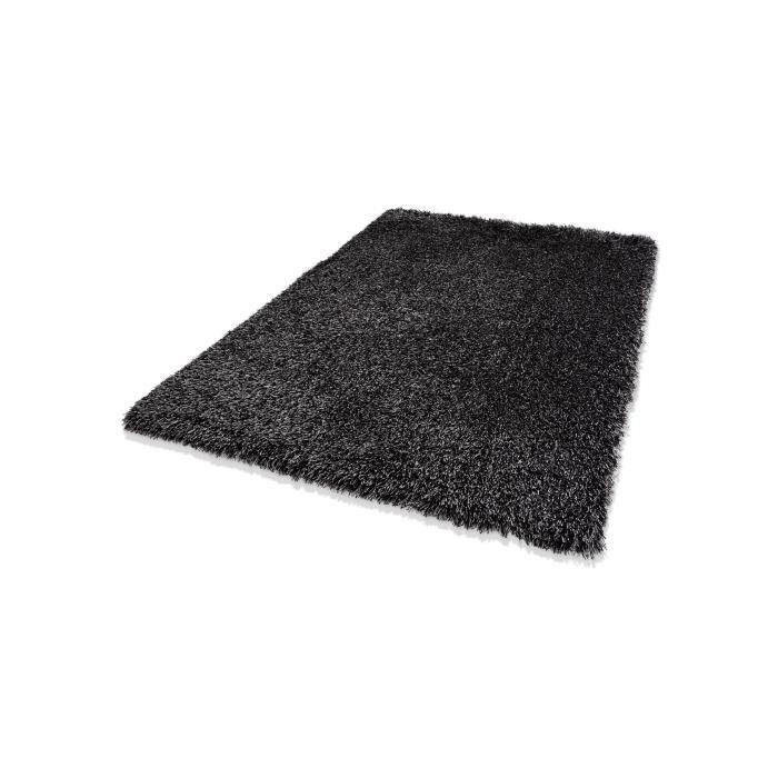 dekowe tapis poils longs lagune anthracite 130x190 cm. Black Bedroom Furniture Sets. Home Design Ideas