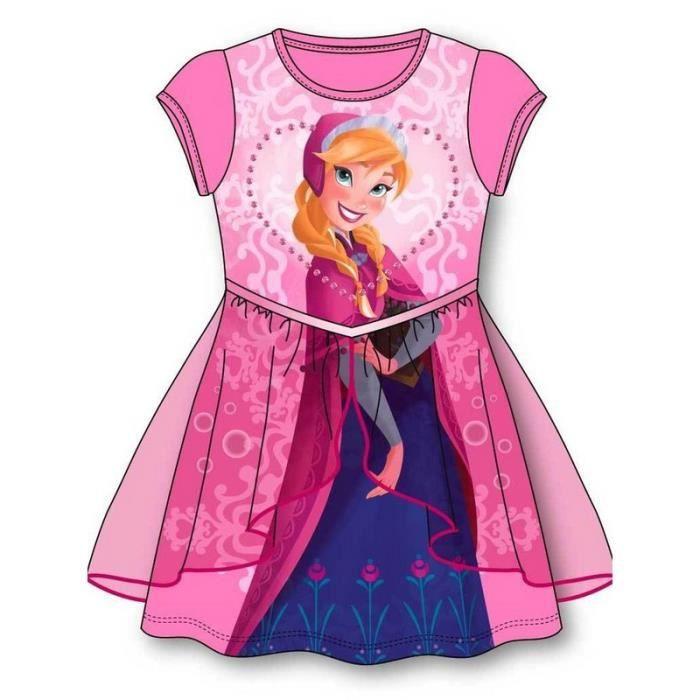 robe reine des neiges anna frozen taille 5 6 ans achat vente robe robe reine des neiges anna. Black Bedroom Furniture Sets. Home Design Ideas
