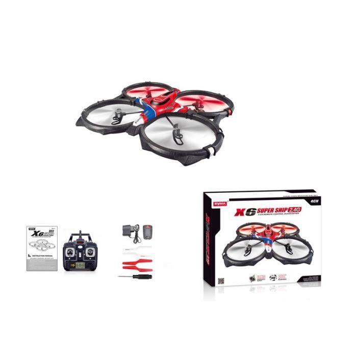 Quadcopter ufo t l commande x6 2 4g avec clairage cadeau pour no l grand neuf achat vente for Tele achat projecteur noel