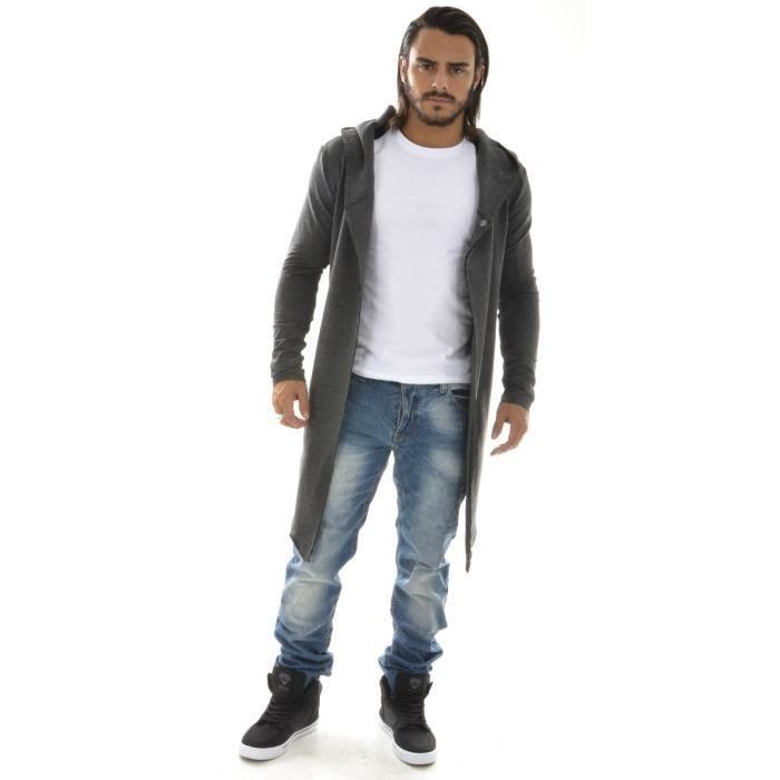 cape homme asym trique multicolore achat vente gilet cardigan cape homme asym trique. Black Bedroom Furniture Sets. Home Design Ideas